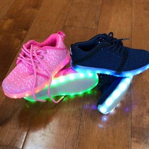 Other - Both pairs...Light up tennis shoes